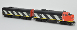 Bowser SO HO F7a/b Canadian National #9168 & #9195, LIST PRICE $329.95