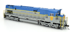 Bowser HO C628 D&H Large Shield #601 with Sound, DUE 1/1/2018, LIST PRICE $299.95