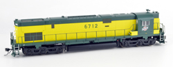 Bowser HO C628 CNW C628 Zito Green Cab #6712 with Sound, DUE 1/1/2018, LIST PRICE $299.95