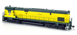 Bowser HO C628 CNW C628 Zito Yellow Cab #6728 with Sound, DUE 1/1/2018, LIST PRICE $299.95