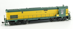 Bowser HO C628 CNW C628  Old Yellow Green Cab #6716 with Sound, DUE 1/1/2018, LIST PRICE $299.95