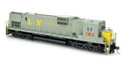 Bowser HO C630 L&N Yellow nose #1432 with Sound, DUE 1/1/2018, LIST PRICE $299.95