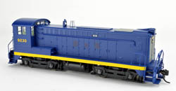 Bowser HO DS 4-4-1000 CNJ Blue/Yellow #9230 EX B&O Patch Out, LIST PRICE $189.95