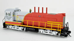 Bowser HO DS 4-4-1000 Copper Range Red/Yellow/Cream/Gray NA #100, LIST PRICE $189.95