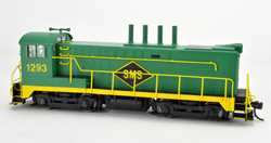 Bowser SO HO DS 4-4-1000 SMS Green/Yellow #1293 Ex Copper Range NA, LIST PRICE $189.95