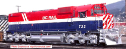 Bowser HO MLW M630 BC Rail #722 R-W-B HS rcssd nose dl, DUE 8/30/2018, LIST PRICE $209.95
