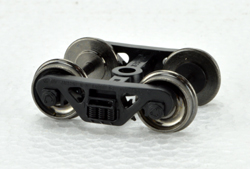 Bowser HO 100 Ton Roller Bearing Trucks w/Metal Wheels pr, LIST PRICE $7.95