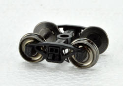 Bowser HO PRR Coil Semi Elliptical Trucks w/Metal Wheels, LIST PRICE $7.95