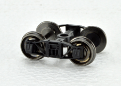 Bowser HO Arch Bar Trucks w/Metal Wheels (pair), LIST PRICE $7.95