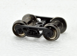 Bowser HO 70 T Roller Bearing Trucks w/ Metal Wheels PR, LIST PRICE $7.95
