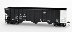 Bowser SO HO 100 Ton 3 Bay Hpr C&NW #135233, LIST PRICE $25.95