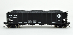 Bowser HO H21a Clamshell Hpr Union RR #15024, LIST PRICE $25.95