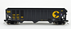 Bowser HO 100 T Hopper Chessie CSXT Paint Out #825781, LIST PRICE $25.95