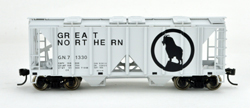 Bowser SO HO 70T 2 bay Cvrd Hpr Great Northern #71348, LIST PRICE $25.95