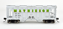 Bowser SO HO 70T 2 bay Cvrd Hpr Mathieson #25509, LIST PRICE $25.95