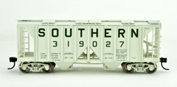 Bowser HO 70T 2 bay Cvrd Hpr Southern #319027, DUE 9/1/2019, LIST PRICE $25.95