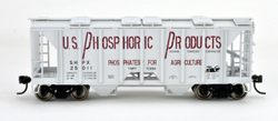 Bowser HO 70T 2 bay Cvrd Hpr US Phosphoric Products #25049, LIST PRICE $25.95