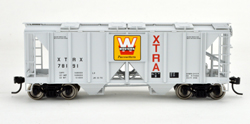 Bowser SO HO 70T 2 bay Cvrd Hpr XTRA Westrn Pcstrs #78191, LIST PRICE $25.95