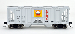 Bowser SO HO 70T 2 bay Cvrd Hpr XTRA Westrn Pcstrs #78205, LIST PRICE $25.95