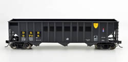 Bowser HO 100 Ton Hopper D&H ex Reading #9721, DUE 12/30/2019, LIST PRICE $28.95