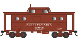 Bowser HO N5C Caboose PRR Early Pittsburgh Reg 477950, DUE 4/30/2020, LIST PRICE $29.95