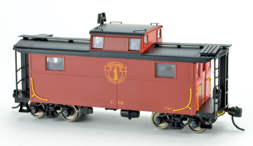 Bowser HO N5 Caboose B&M Minute Man C17, DUE 4/30/2020, LIST PRICE $29.95