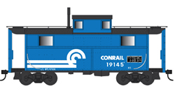 Bowser HO N5 Caboose Conrail 19145, DUE 4/30/2020, LIST PRICE $29.95
