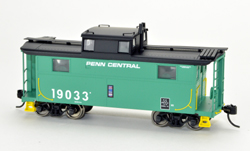 Bowser HO N5 Caboose Penn Central 19004, DUE 4/30/2020, LIST PRICE $29.95