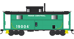 Bowser HO N5 Caboose Penn Central 19033, DUE 4/30/2020, LIST PRICE $29.95