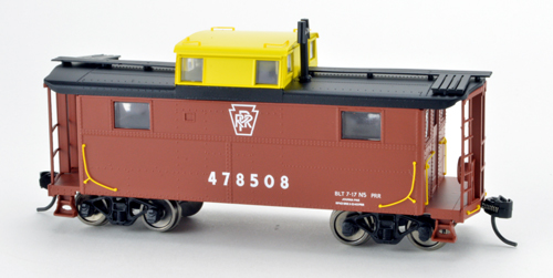 Bowser HO N5 Caboose PRR KS Yellow Cupola 478508, DUE 4/30/2020, LIST PRICE $29.95