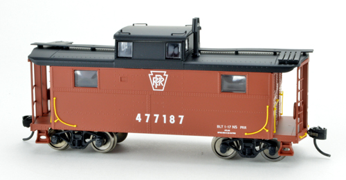 Bowser HO N5 Caboose PRR Keystone 477187, DUE 4/30/2020, LIST PRICE $29.95