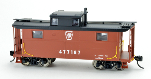 Bowser HO N5 Caboose PRR Keystone 477222, DUE 4/30/2020, LIST PRICE $29.95