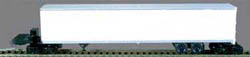 Bowser HO 53' SMOOTH WALL ROADRAIL_ UNDEC, LIST PRICE $16.95