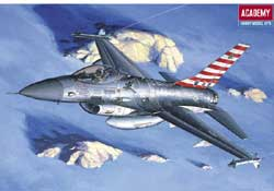 Academy Models 1/48 GD F16A/C Falcon USAF, LIST PRICE $24