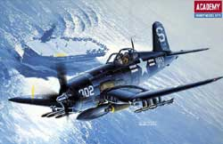 Academy Models 1/48 F4U4B Corsair, LIST PRICE $17