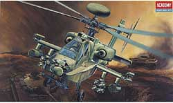 Academy Models 1/48 AH-64D Apache Longbow USA, LIST PRICE $27