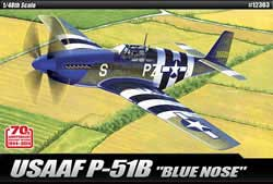 Academy Models 1/48 P-51B 70th Anniversary of Normandy Invasion, LIST PRICE $56