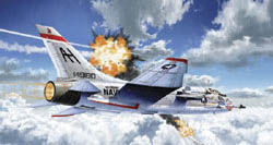 Academy Models 1/72 F-8E VF-111 Sundowners, New Version, LIST PRICE $39