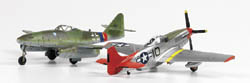 Academy Models 1/72 P-51D Red Tails & ME262A-1A Tuskegge, LIST PRICE $32