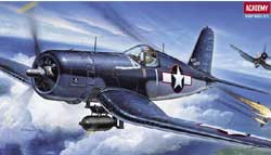 Academy Models 1/72 F4U1 Corsair, LIST PRICE $15.25