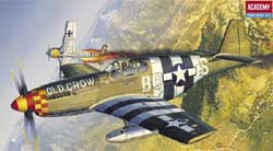 Academy Models 1/72 P-51B Mustang, LIST PRICE $14.75