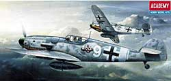 Academy Models 1/72 MESSERSCHMITT BF 109G-6, LIST PRICE $14.75