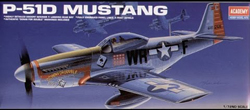 Academy Models 1/72 P-51D MUSTANG, LIST PRICE $13.75
