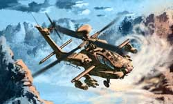 Academy Models 1/72 AH-64D Block II, LIST PRICE $33
