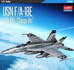 "Academy Models 1/72 F/A-18E VFA-195 ""Chippy Ho"" USN , DUE 5/30/2019, LIST PRICE $36"