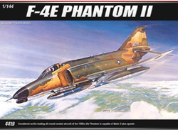 Academy Models 1/144 F-4E PHANTOM II, LIST PRICE $5.95