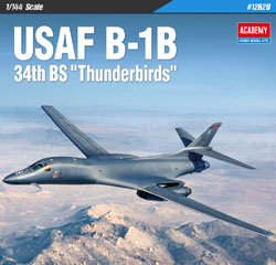 "Academy Models 1/144 B-1B 34th BS ""Thunderbirds"" , LIST PRICE $44"