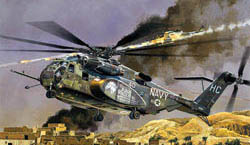 "Academy Models 1/48 MH-53 ""Sea DragoN, LIST PRICE $105"