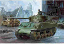 Academy Models M-4A2 SHERMAN RUSSIAN 1:35    , LIST PRICE $38