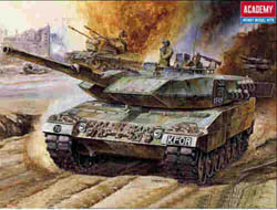 Academy Models LEOPARD II Motorized 1:48     , LIST PRICE $27